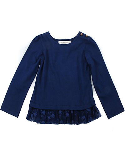 Cupcakes & Pastries Peplum Knit Top