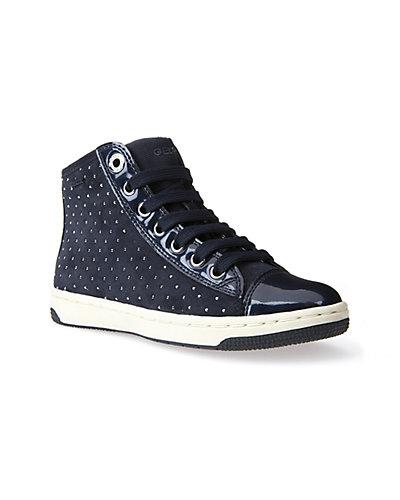 Rue La La — Geox Creamy Suede Sneaker