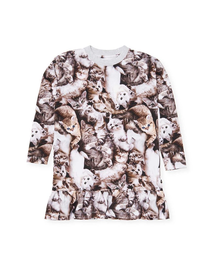 Molo Clothing CAT PRINT T