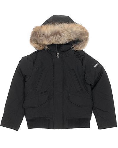 Woolrich Boys' Polar Black Jacket