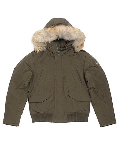 Woolrich Boys' Polar Green Jacket