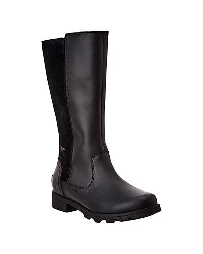 Rue La La — SOREL Emelie Tall Waterproof Leather & Suede Boot