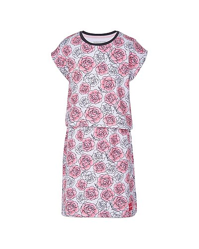 Rue La La — Calvin Klein Floral Layered Dress