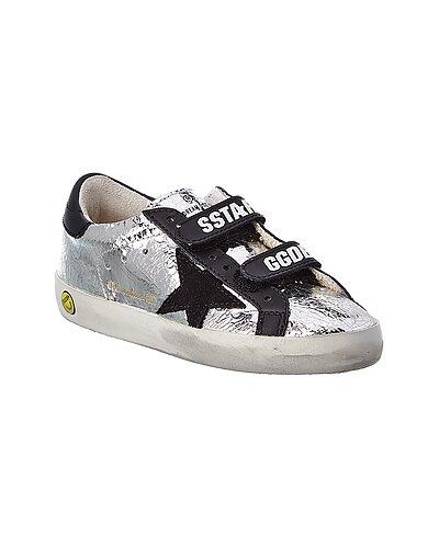 Rue La La — Golden Goose Old School Superstar Crackle Leather Sneaker