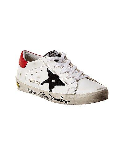 Rue La La — Golden Goose Superstar Leather Sneaker