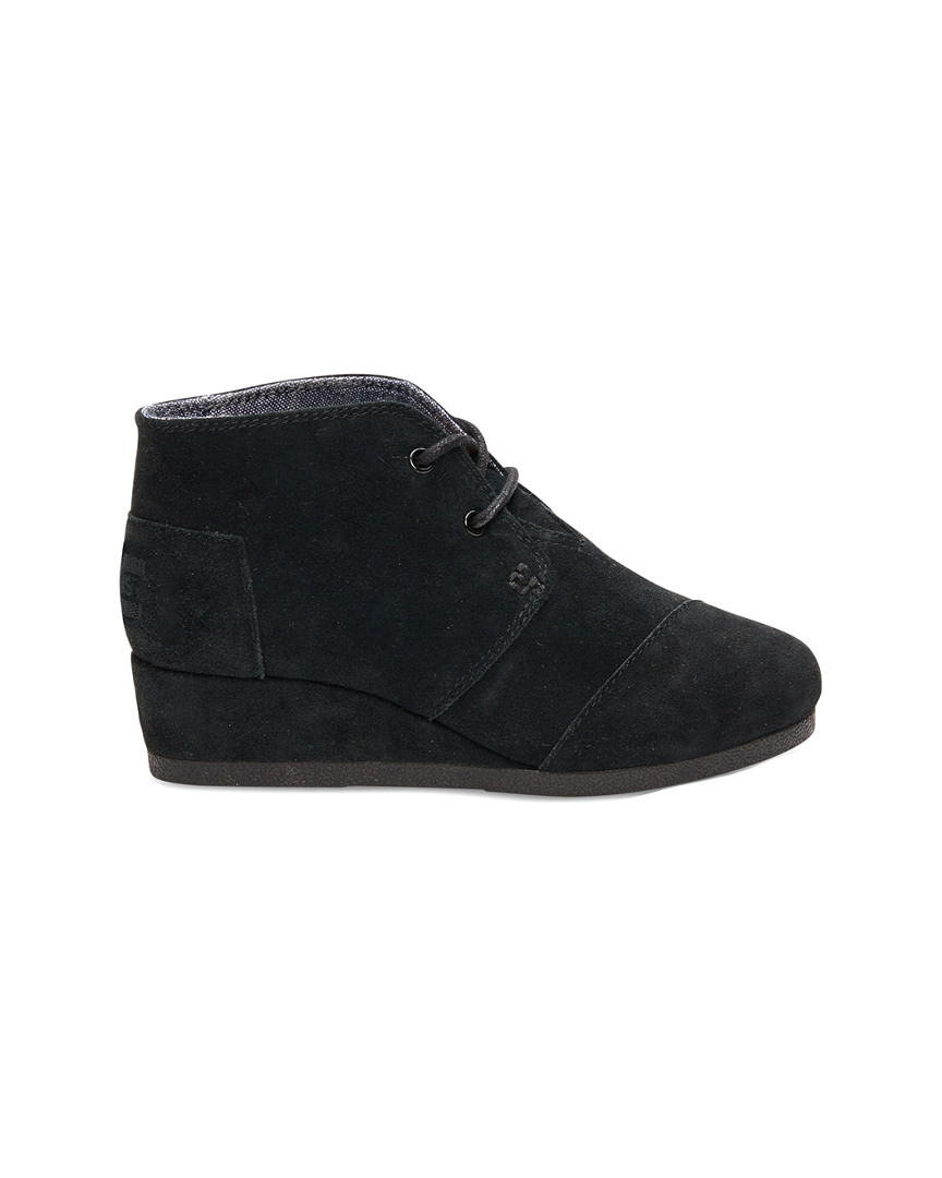 SUEDE WEDGE