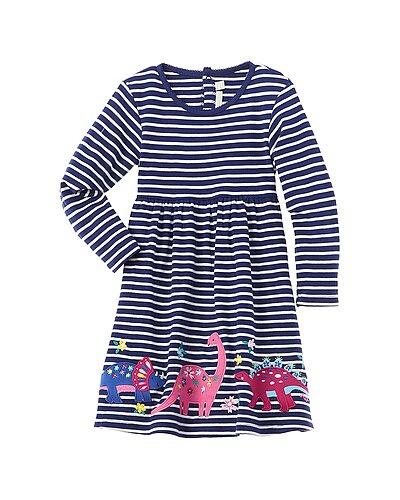 Rue La La — JoJo Maman Bébé Dino Applique Dress