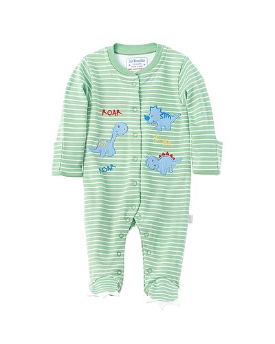 Rue La La — JoJo Maman Bébé Dino Applique Sleepsuit