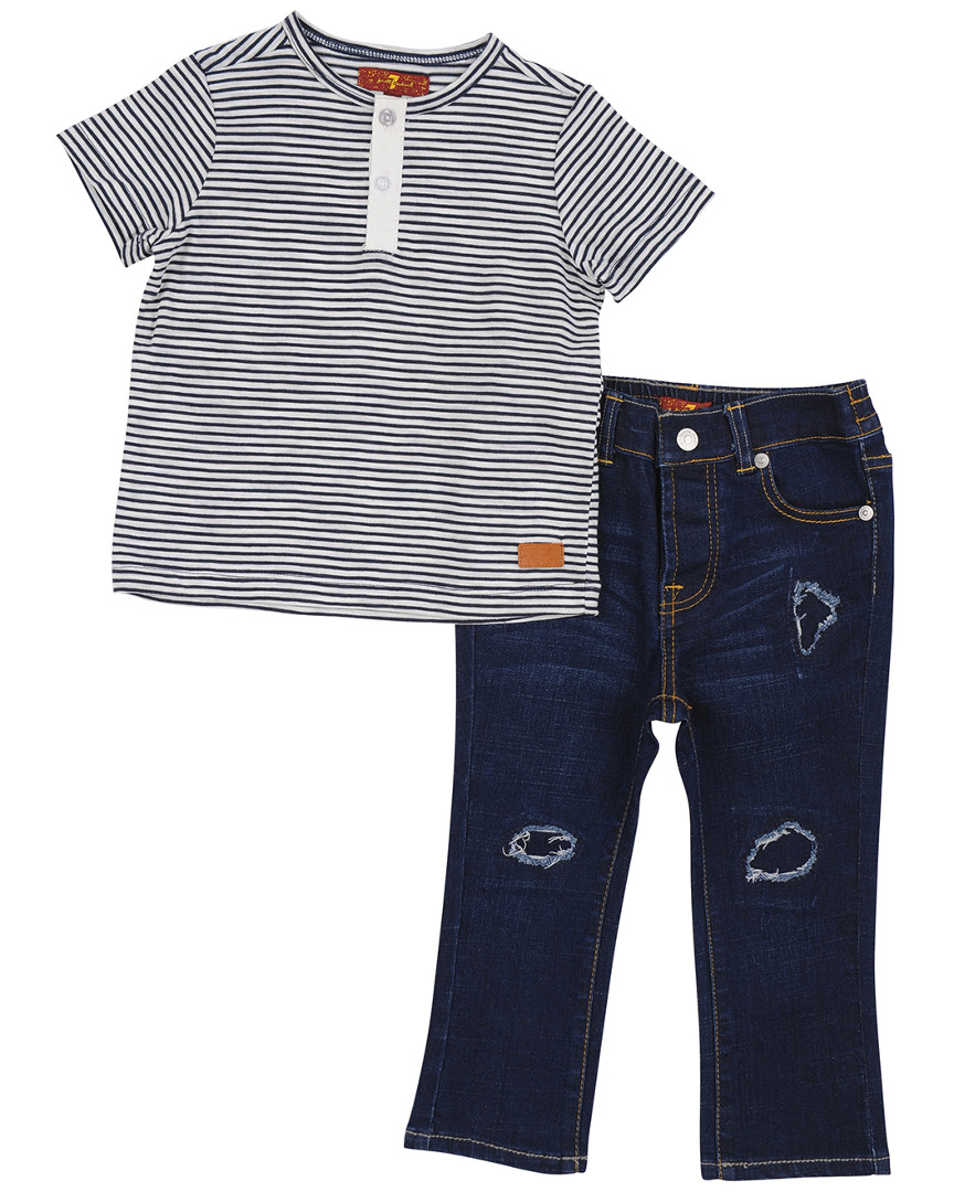 7 FOR ALL MANKIND 2PC SET