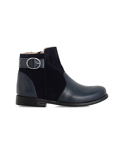 Rue La La — Jacadi Leather & Suede Boot