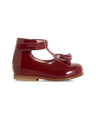 Rue La La — Jacadi Leather T-Strap Shoe