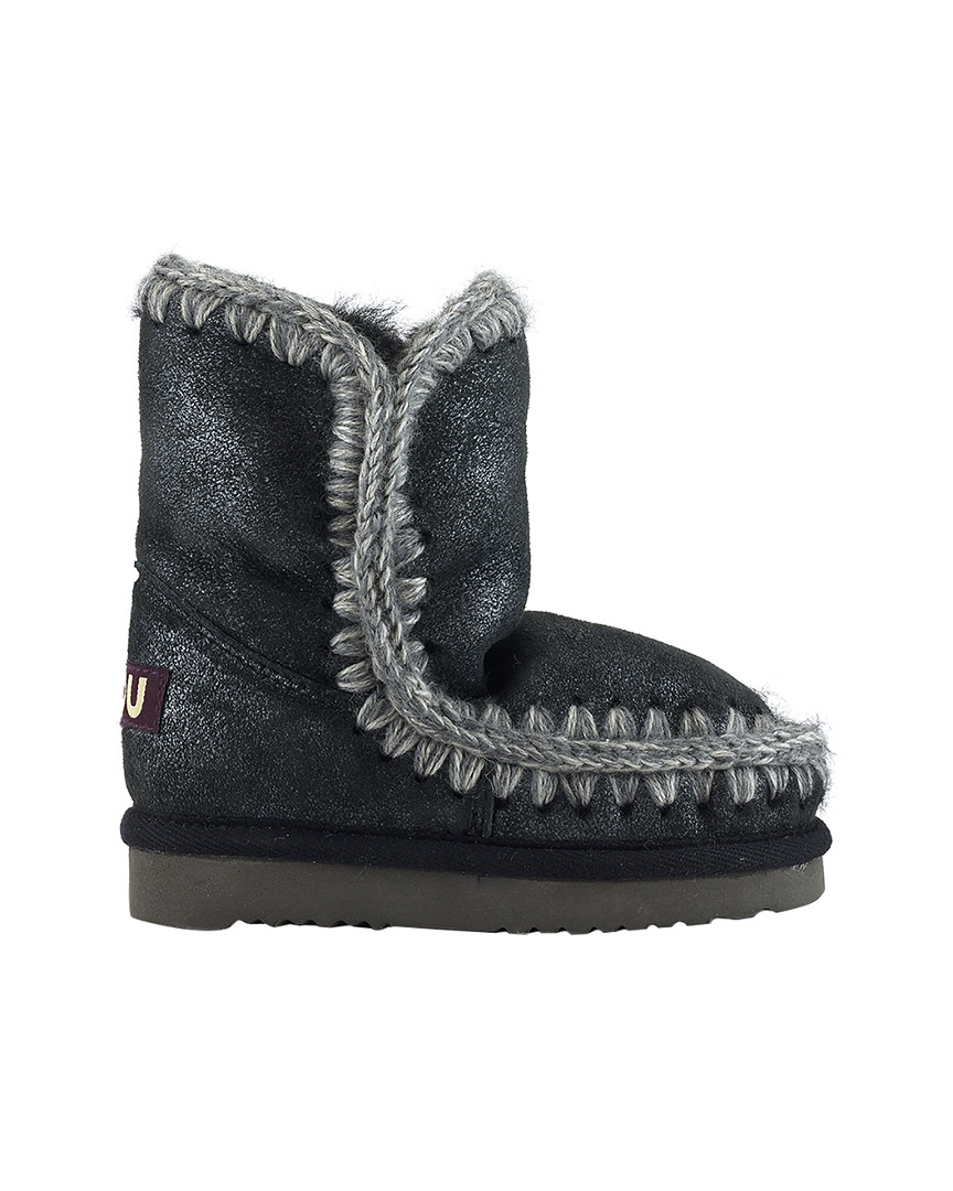 CROCHETED SNOW BOOT