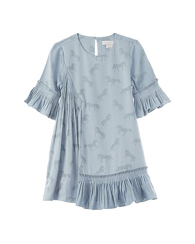 Rue La La — Stella McCartney Horse Print Flared Dress