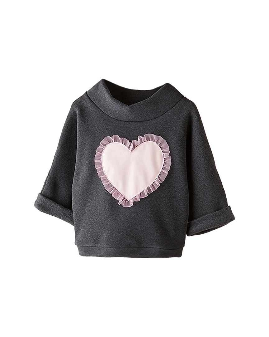 HEART PATCH BLOUSE