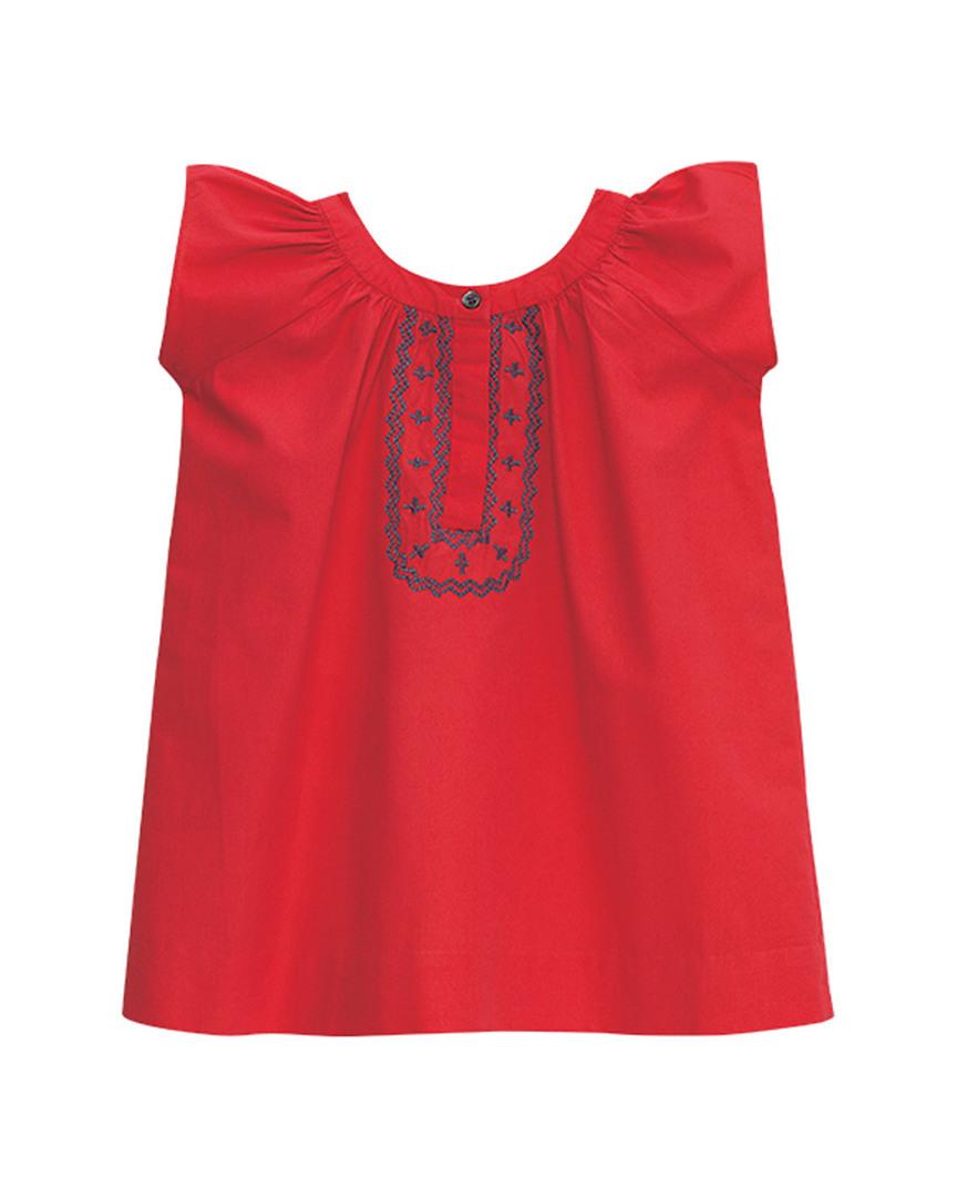 OLIVIA EMBROIDERED DRESS