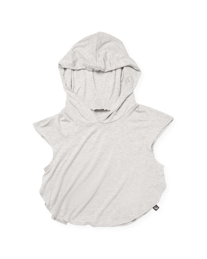 HOODED CROP TOP