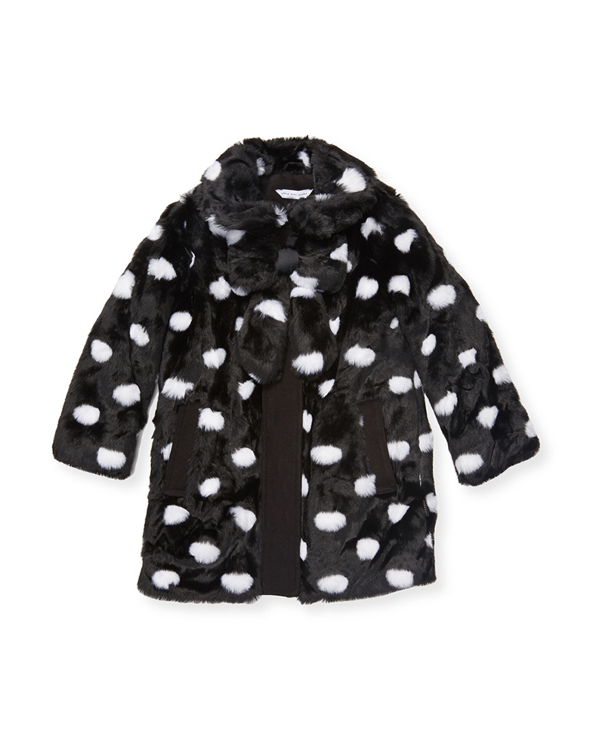 DOTTED BOW COAT