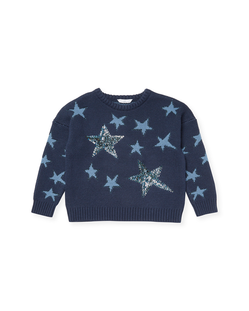 SEQUINED STARS SWEATER