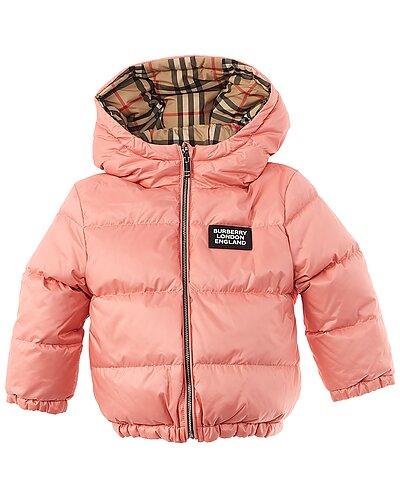 Rue La La — Burberry Reversible Vintage Check Puffer Jacket