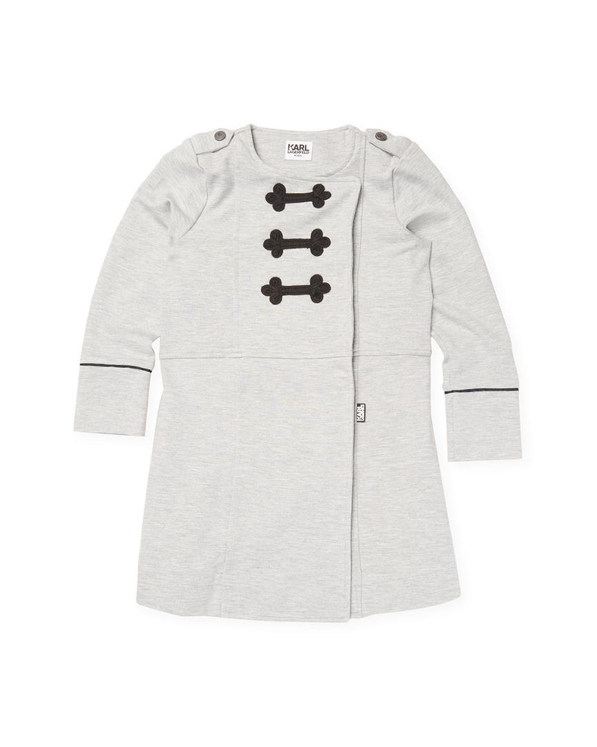 CREWNECK RAGLAN DRESS