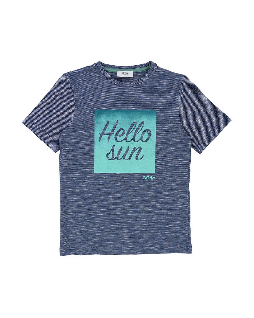 HELLO SUN STRIPED T