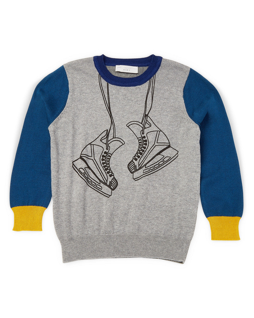 Stella Mccartney Lucky Graphic Crewneck Sweater 15118046360000