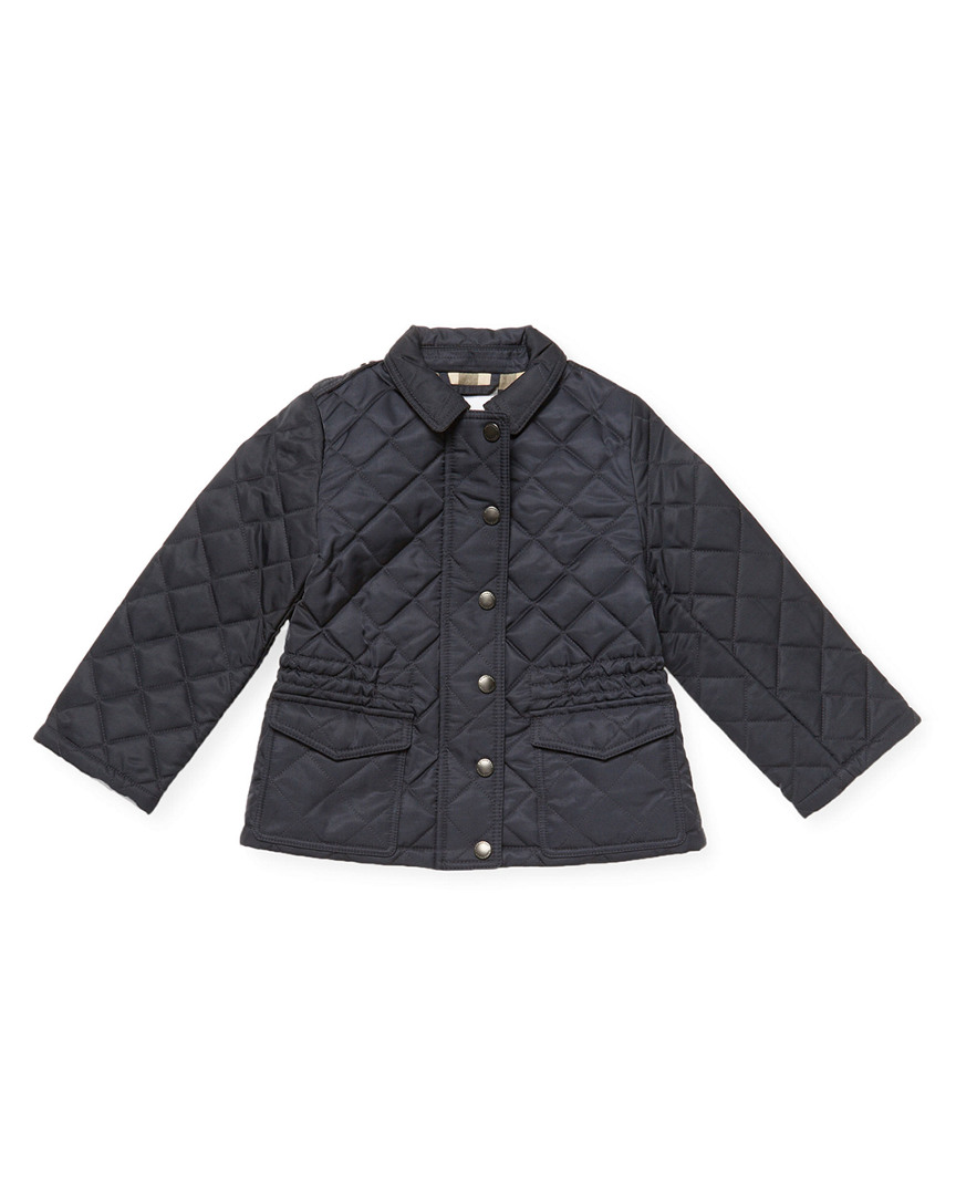 QUILTED SPREAD COLLAR JACKET