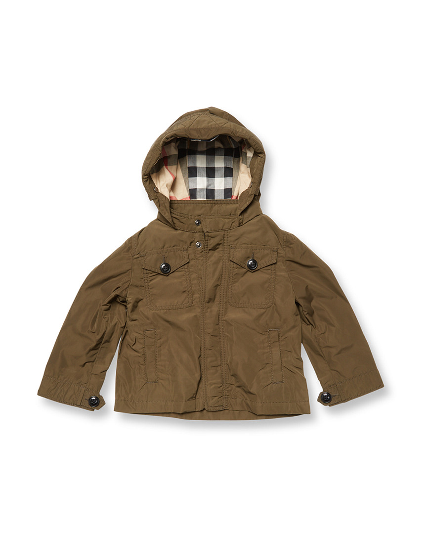 SOLID HOODED JACKET