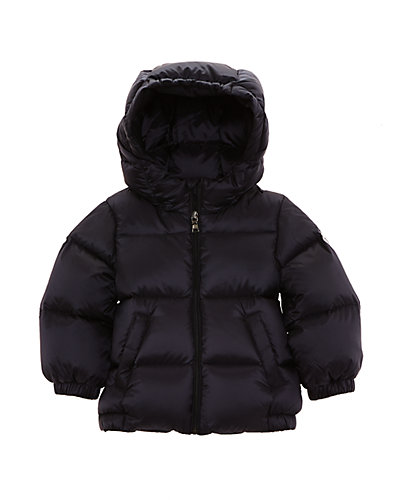 Moncler Boys' Macaire Navy Jacket