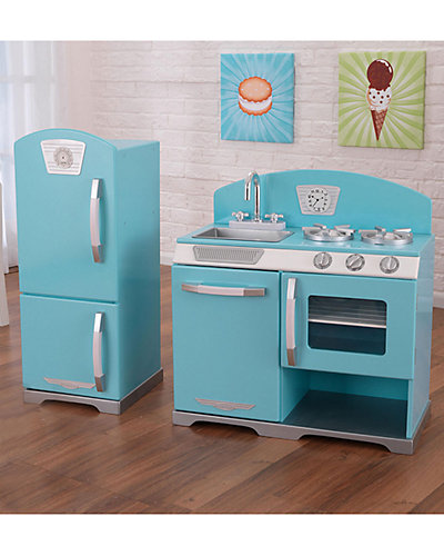 KidKraft Retro 2pc Kitchen Set