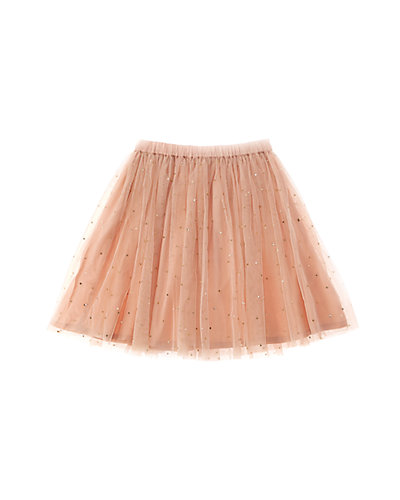 Cupcake & Pastries Girls' Blush Tulle Skirt