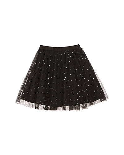 Cupcake & Pastries Girls' Black Tulle Skirt
