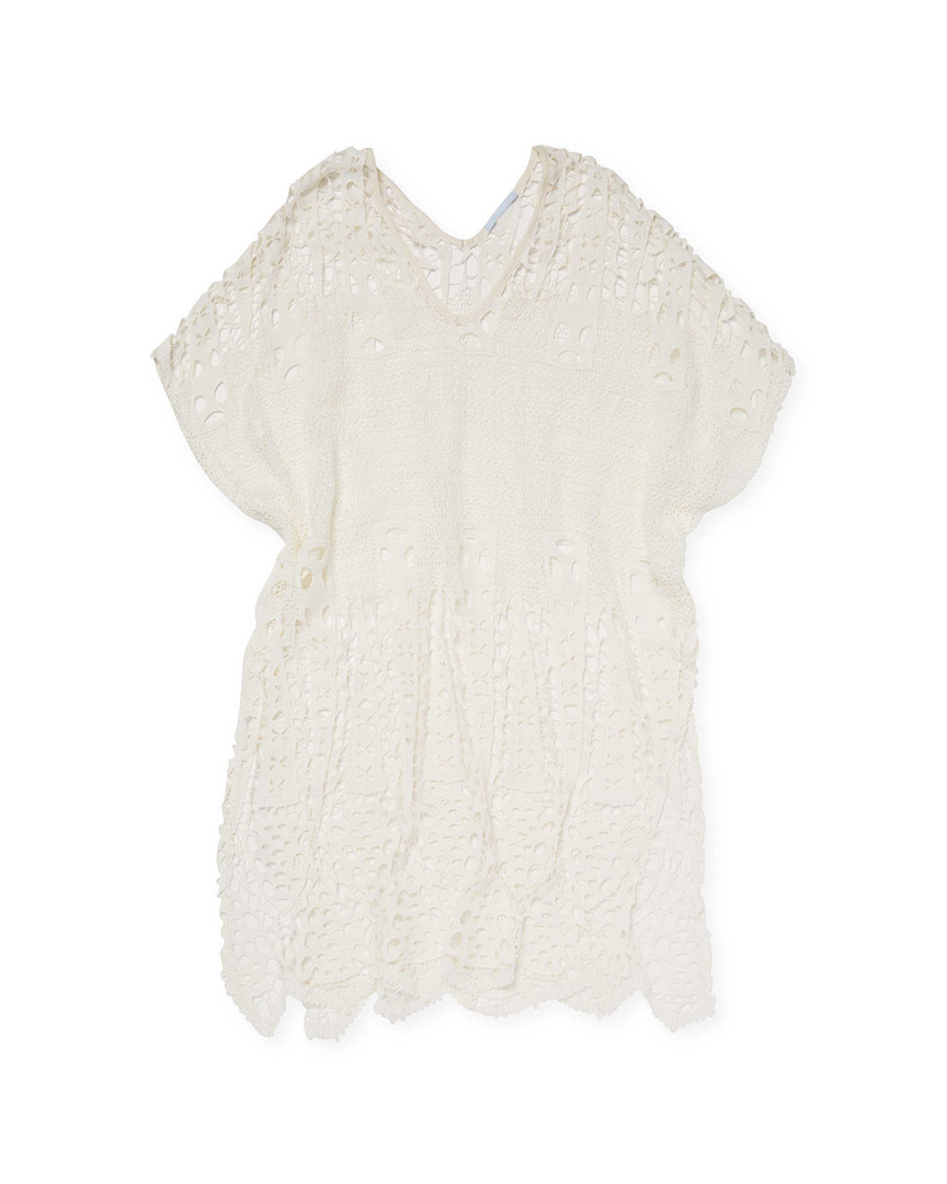 BRIELLE SPEARHEAD CROCHET TUNIC DRESS