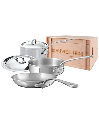 Mauviel M'Cook 5pc Set with Crate