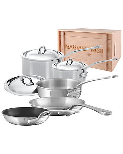 Mauviel M'Cook 8pc Set with Crate