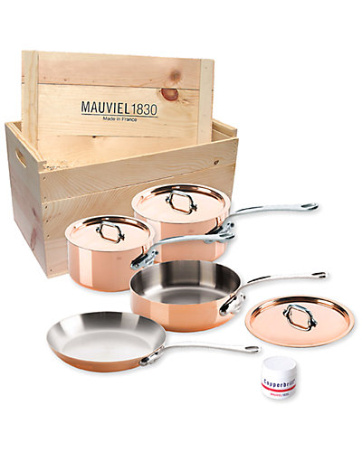 Mauviel M150S 7pc Set with Crate