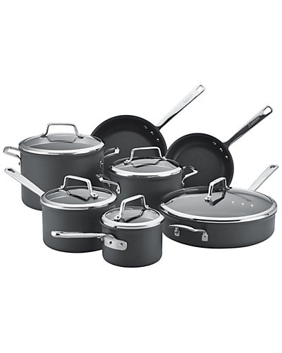 Anolon Authority 12pc Hard Anodized Nonstick Cookware Set