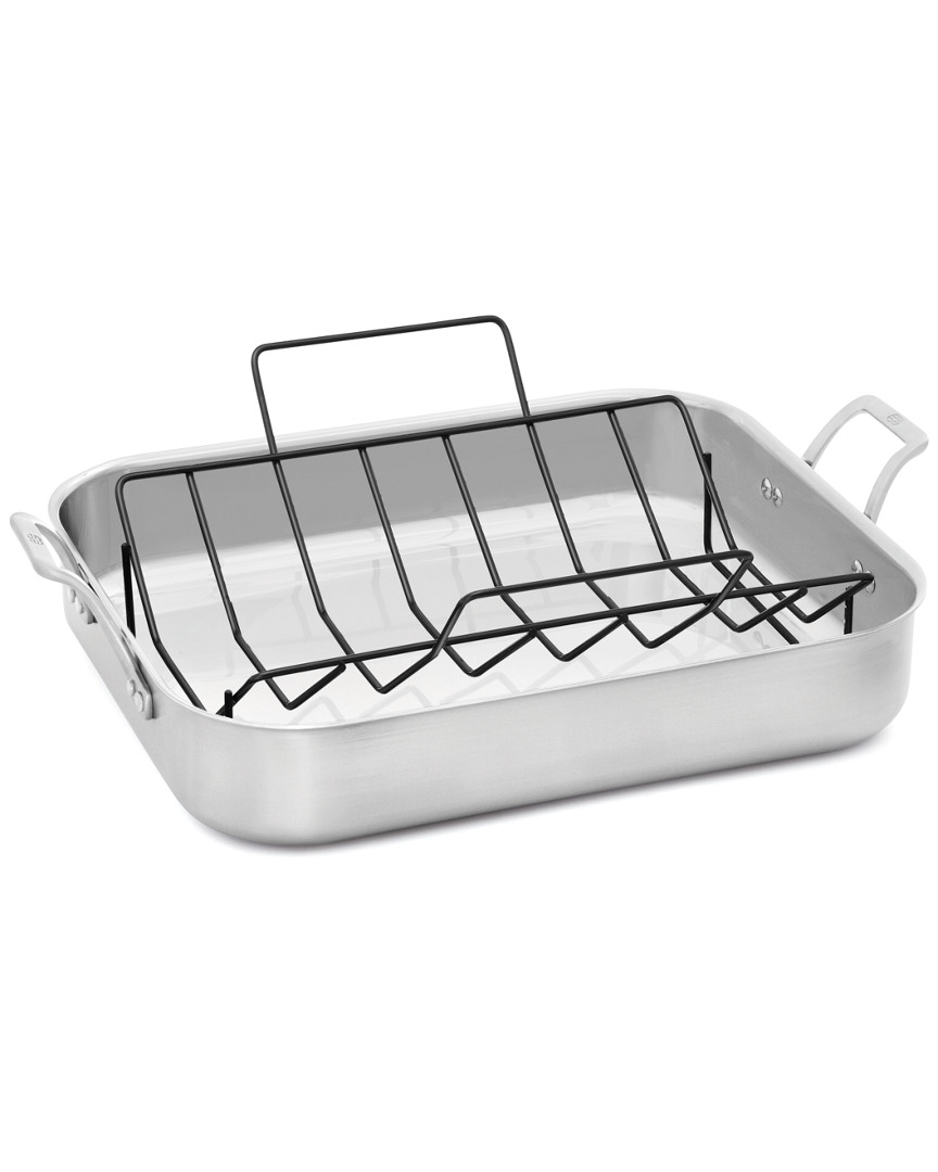 Calphalon 16In Signature Stainless Steel Roaster With Rack photo
