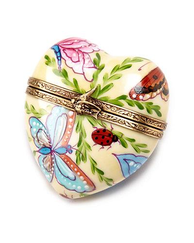 Rochard Limoges Butterfly Heart
