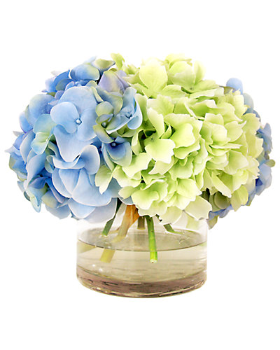12in Hydrangea with Water Pot