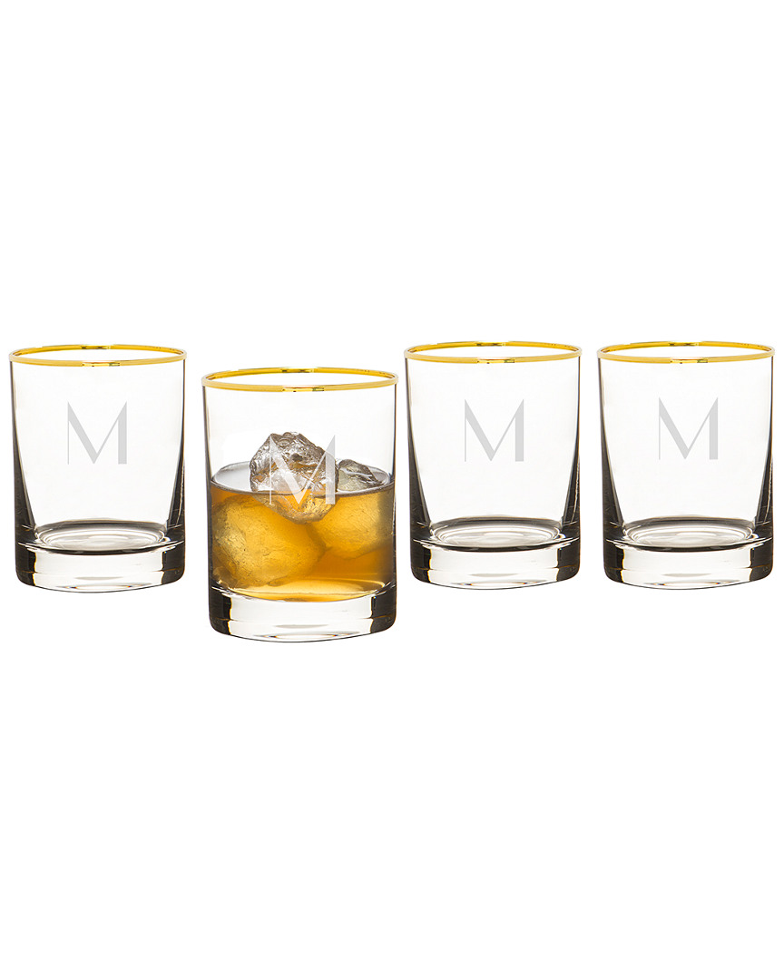 Cathy's Concepts Personalized 11oz Rim Whiskey Glasses