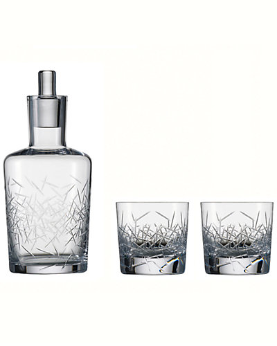 "Zwiesel 1872 ""Hommage"" 3pc Glace Whiskey Set"