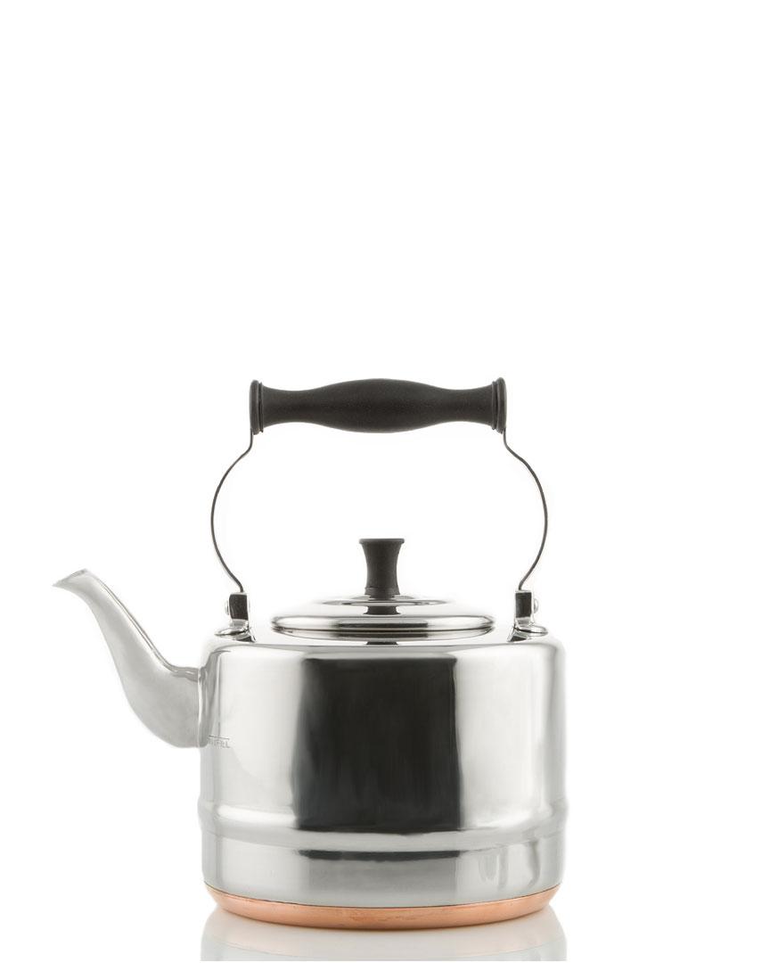 Bonjour 2Qt Steel & Copper Tea Kettle photo