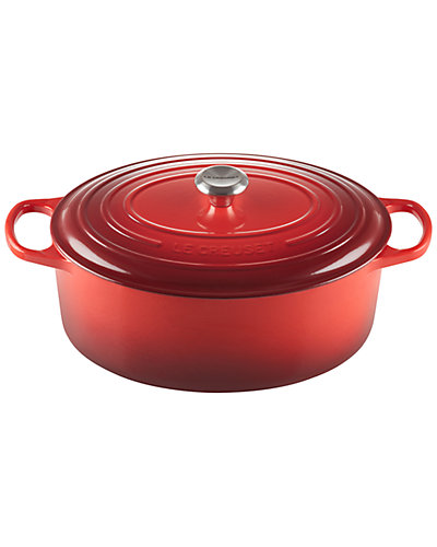 Le Creuset 9.5qt Signature Oval Dutch Oven