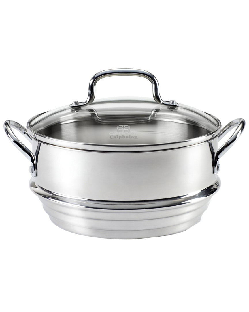 Calphalon Stainless Steamer With Cover photo