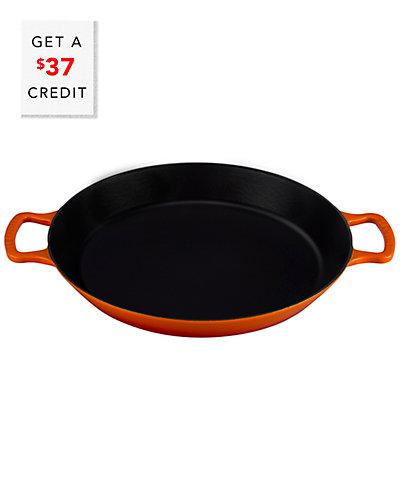 Le Creuset 3.25qt Paella Pan