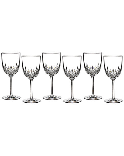 Waterford Lismore Encore Set of 6 Goblets
