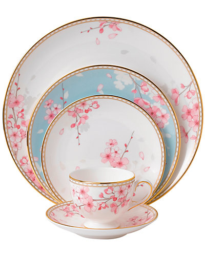 Wedgwood Spring Blossom 5pc Place Setting