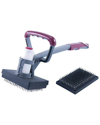 Charcoal Companion Steam Cleaning Grill Brush