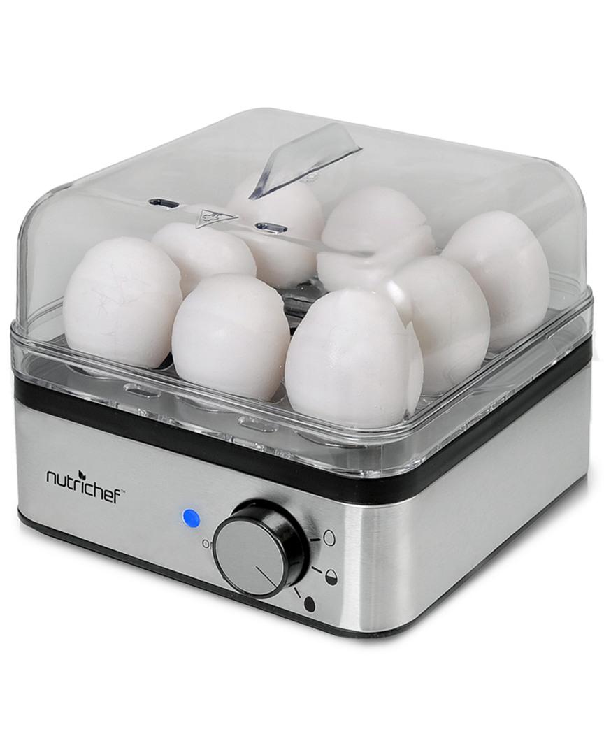 Nutrichef Electronic Food Steamer & Egg Boiler photo